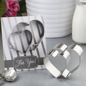 Double Heart Design Cookie Cutter