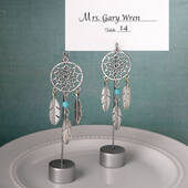 Dream Catcher Place Card / Photo Holder in Southwest / American Indian Design
