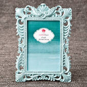 Exclusive Teal 4 x 6 Baroque Frame