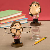 Female Teacher Eyeglass Holder