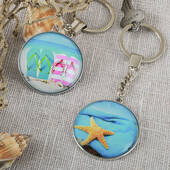 Fun Beach Key Chains