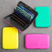 Fun Neon Wallet Credit Card Holder