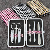 Geometric Manicure Set