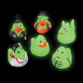 Glow In The Dark Halloween Ducks