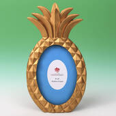 Gold Pineapple Shaped 4 x 6 Frame