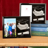 Graduation Themed Glass Frame