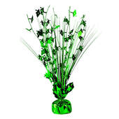 Green Graduation Balloon Centerpiece