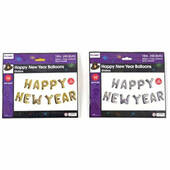 Happy New Year Mylar Balloon Banner