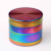 Herb Grinder Rainbow Colors