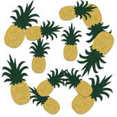 Large Sparkled Pineapple Confetti