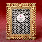 Magnificent Gold Lattice 5 x 7 Frame