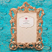 Magnificent Rose Gold Baroque 4 x 6 Frame