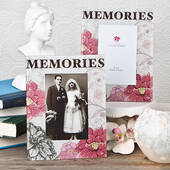 Memories Themed Glass Frame
