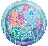 Mermaid Lunch Plates