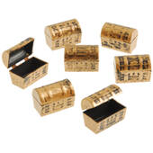 Mini Plastic Treasure Chests