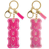Mom Dazzler Bling Keychain