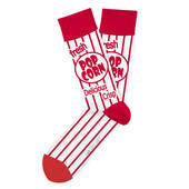Movie Night Popcorn Socks