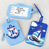 Nautical Luggage Tags 2 Assorted
