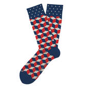 Patriotic Block Party Socks
