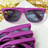 Perfectly Plain Collection Purple Fashion Sunglasses