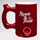 Red Roast And Toast Mug