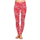Seasons Greetings Christmas Leggings