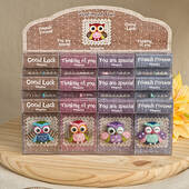Sentimental Wise Owl Magnets