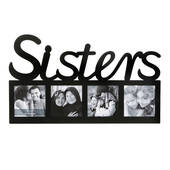 Sisters Large Letter Multi Opening Frame