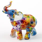 Tie-dye Elephant Medium Size
