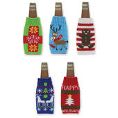 Ugly Sweater Beer Bottle Holder