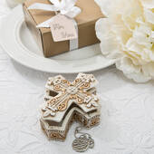 Vintage Design Cross Trinket and Jewelry Box