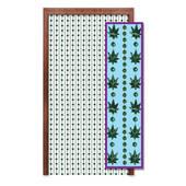 Weed Beads Hanging Door Curtain