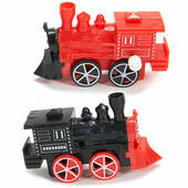 Wind Up Plastic Train