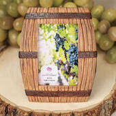 Wine Barrel Themed Placecard / Picture Frame
