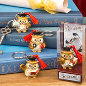 Wise Owl Graduation Key Chain