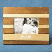 Wood Two Tone Frame Mom
