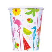9ozs. Luau Hot Cold Cups