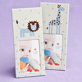Animal Themed Baby Frames-Blue