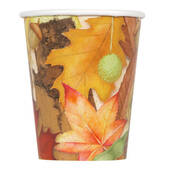 Autumn Leaves 9oz Hot Cold Cups