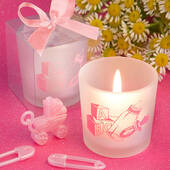 Baby Girl Themed Candle