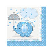 Baby Shower Boy Beverage Napkins