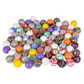 Bulk High Bounce Rubber Ball Assortment - 1""