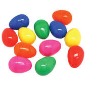2000ct Bulk Multicolor Plastic Easter Eggs