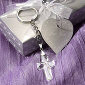 Choice Crystal Cross Key Chains