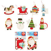 Large Christmas Gift Bag Tags
