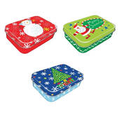 Christmas Gift Card Holder Box - Tin