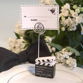 Clapboard Style Placecard Holder