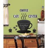 Coffee Cup Chalkboard Peel And Stick Decal
