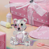 Crystal Collection Teddy Bear Figurines