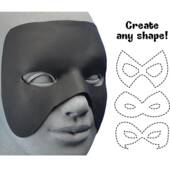 Cut To Shape Black Mask